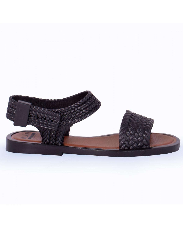 Sandalia Full para Dama Rebeca 9874 Negro