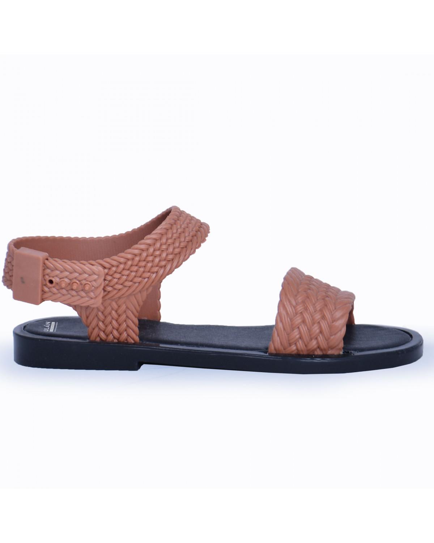 Sandalia Full para Dama Rebeca 9874 Cajeta