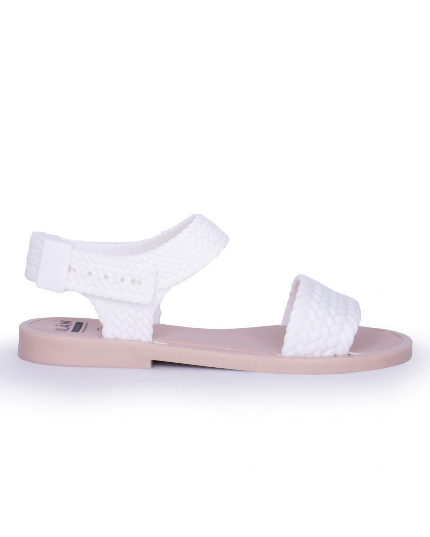 Sandalia Full para Dama Rebeca 9874 Blanco